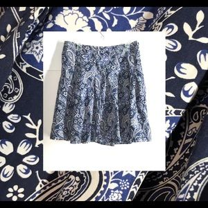 💋TOMMY WESTERN Style Paisley SKIRT